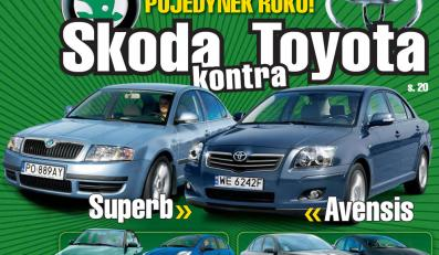 Wielki mecz na szczycie: Skoda kontra Toyota