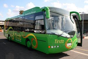 Pierwszy autobus zasilany w pełni energią słoneczną