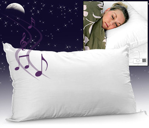 Grająca poduszka idealna na bezsenność
