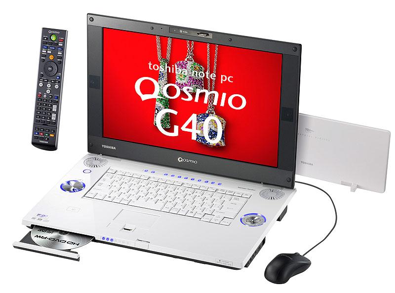 Pierwszy laptop z nagrywarką HD DVD-RW