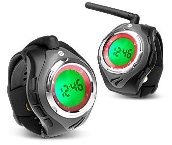 Cyfrowa krótkofalówka w zegarku idealna dla bliźniaków