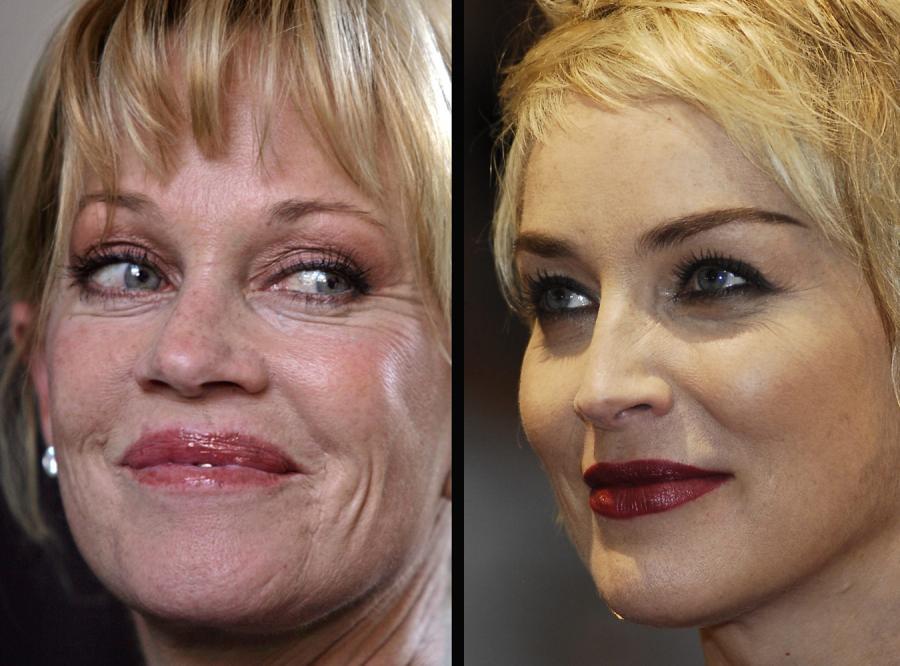 Starzej się jak Sharon Stone