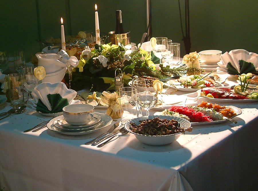 Boże Narodzenie to okres dobrego jedzenia i basta! Nie musimy zadręczać się dietą.