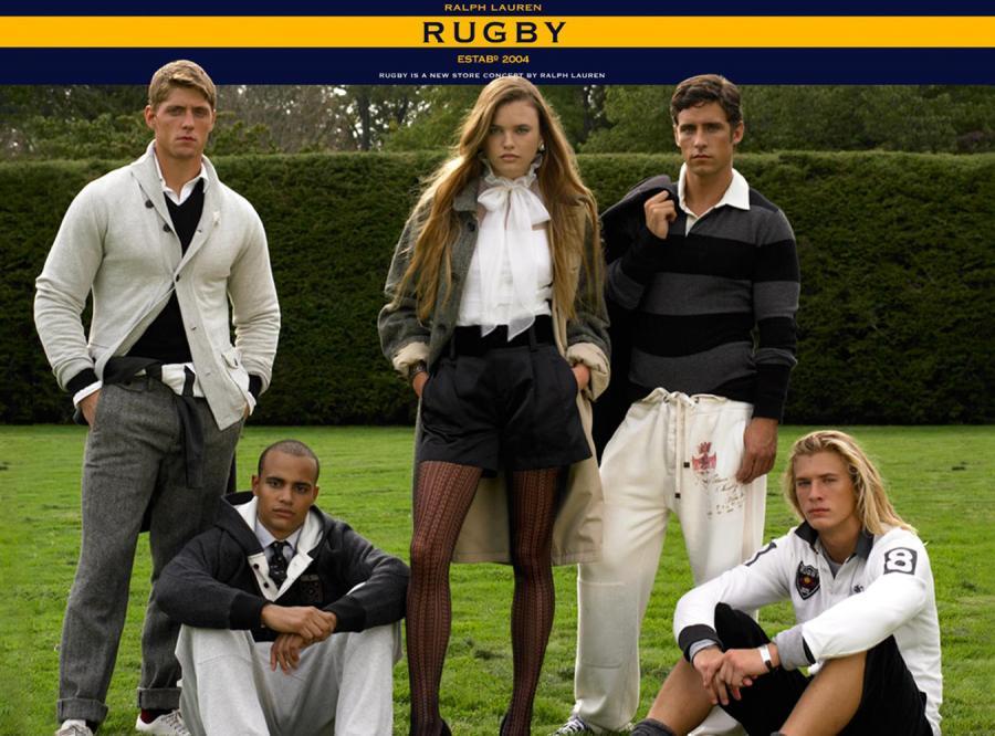 Rugby dyktuje trendy mody