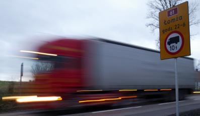 Polski TIR-widmo spowodował wypadek w Czechach