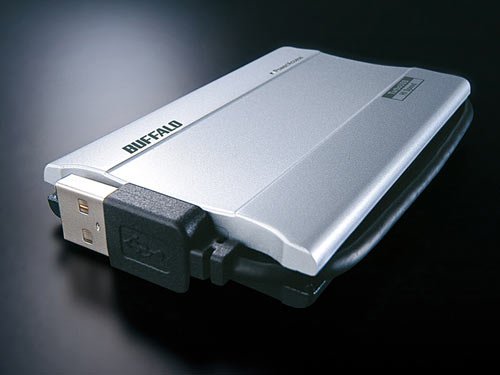 100 giga w SSD od Buffalo Japan, niestety tylko z USB 2.0