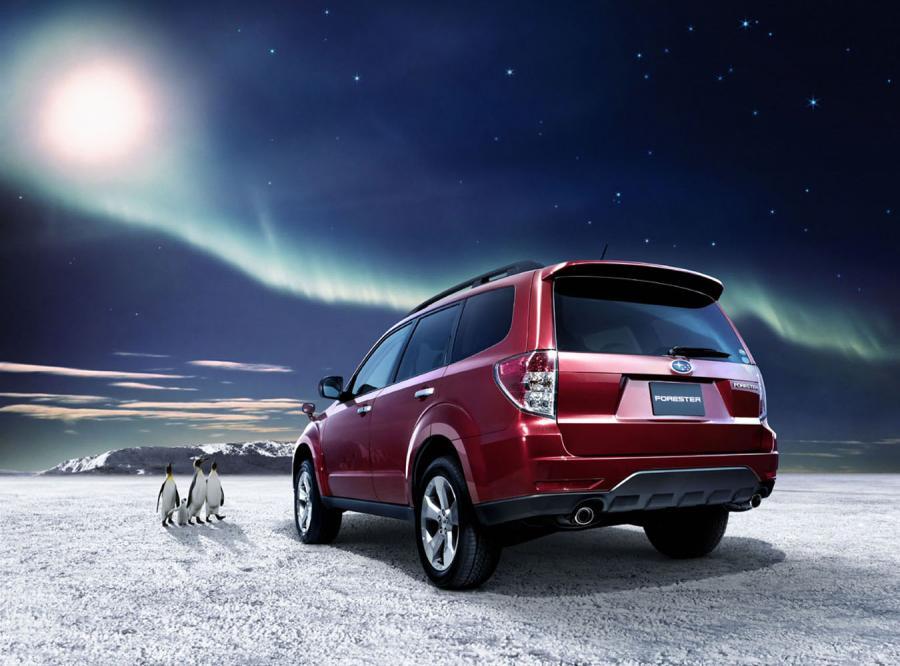 Subaru ma kolejne wcielenie forestera. Pingwiny zatkało…