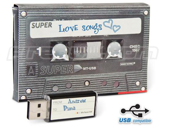 Mixtape - połączenie kasety z pamięcią USB