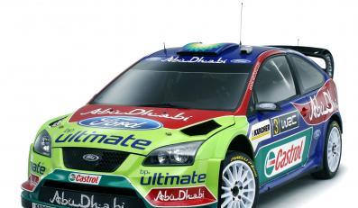 Ford ujawnił barwy focusa RS WRC na rajdowy sezon 2008